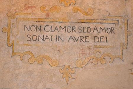 liefde latijnse spreuken Magnuskerk Anloo   Fresco's liefde latijnse spreuken